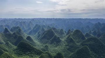 飞阅广西木论国家级自然保护区