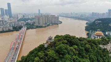 广西柳江年内4次超警戒水位