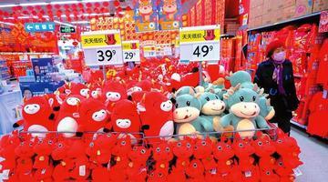 春节临近 南宁民俗年货进入销售旺季