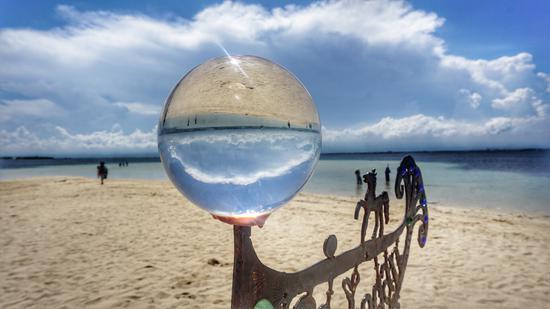 资生堂岛海滩 摄影/莫果蕾