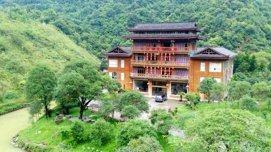 桂林十二滩漂流景区