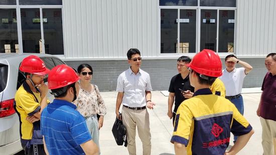 防城港防城区工业项目消防工作安全检查