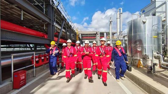 钦州港金谷港区泊位工程项目消防检查
