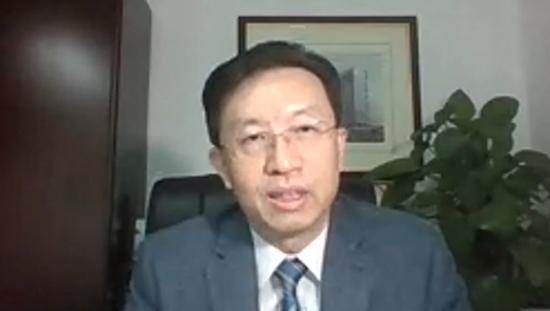 中国启迪控股股份有限公司常务副总裁、中国—东盟科技产业合作委员会中方副主席、国际科技园及创新区域协会(IASP) 副主席陈鸿波