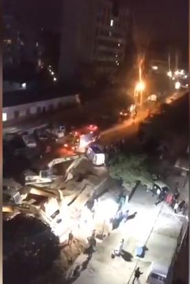 广西博白县一施工现场发生坍塌事故 致一死一伤