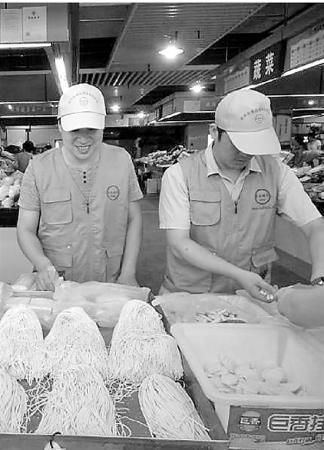 农贸市场的面条饺子皮安全吗?开发区食安办检给你看