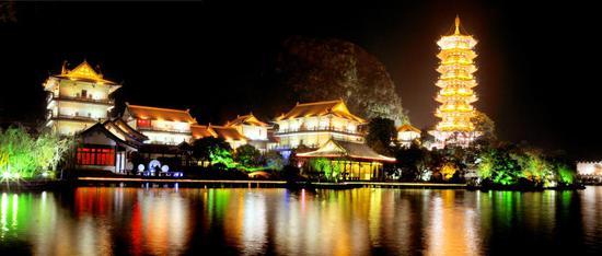 两江四湖唯美夜景
