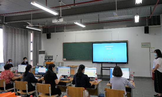 广西职业院校教学能力大赛课堂教学比赛现场