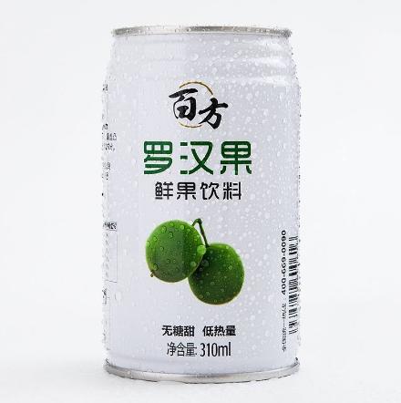 (图:市面上在售的罗汉果饮料)
