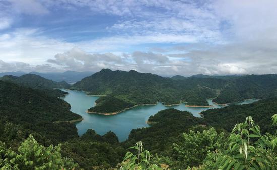 茶山湖云海