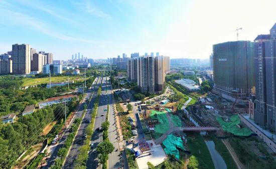 南宁将新添一座立交桥 以后衡阳东路延长线可接入快环