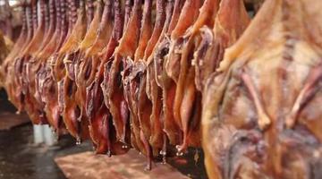 过年吃广西腊味 板鸭、腊肉怎么能少