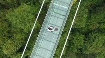 过年去哪玩?广西融水有座玻璃桥