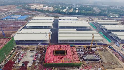 南宁市农产品交易中心一期建设规模已现