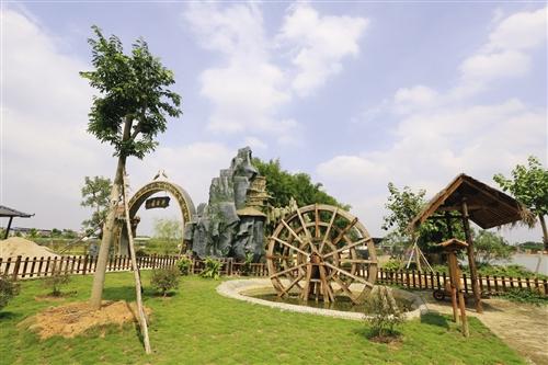金穗生态园里的耕读园(景区供图)