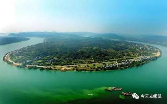 广西这个地方不仅能骑行赏花赏江景 还能考古寻古迹