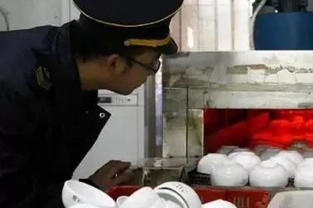 注意!柳州抽检11家餐具消毒单位 这2家单位不合格