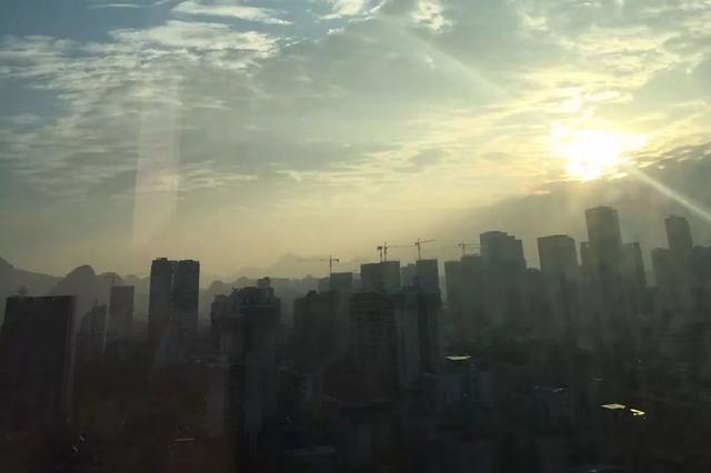 开心吗?柳州未来几天为多云天气 白天气温明显回升