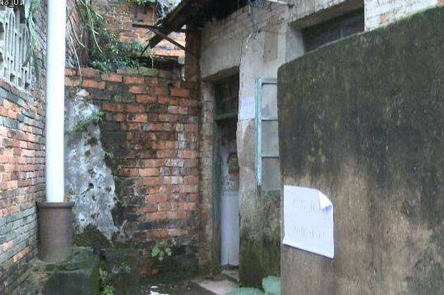 南宁一筒子楼共用厕所倒塌了 住户千米外如厕