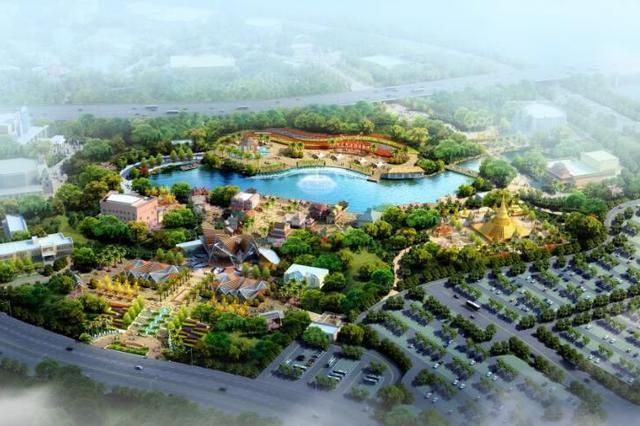 南宁东盟文化旅游项目进展顺利 春节前可进场体验
