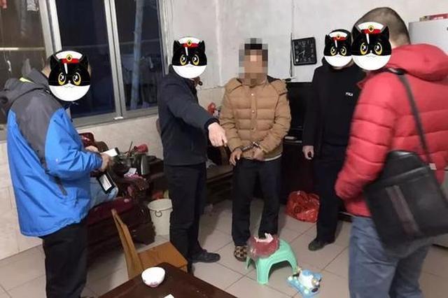 平乐一男子花3500元网络购枪被擒获(图)