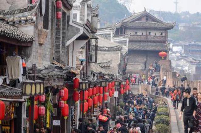 年初三全国旅游接待0.73亿人次 广西接待游客量排前十
