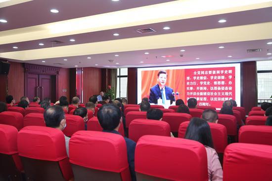 張忠友教授講授中國共產黨百年奮斗歷程
