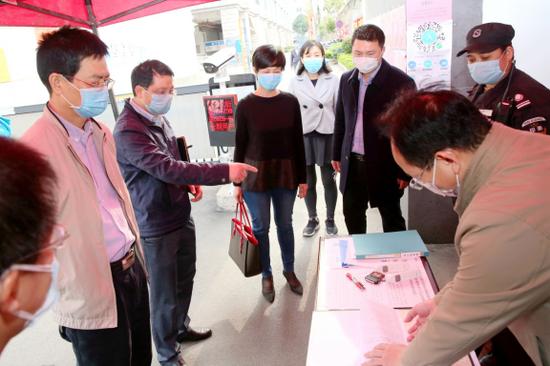 自治区民政厅专项督查组开展疫情防控专项督查
