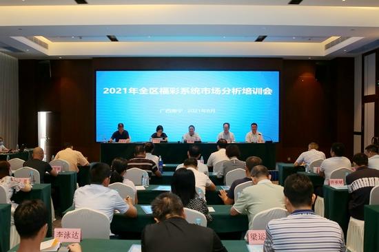 2021年全区福彩系统市场分析培训会