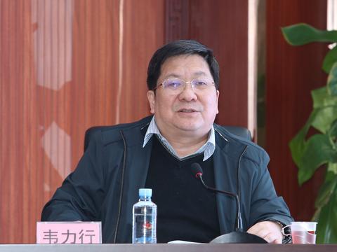 韦力行到广西福彩中心党总支部宣讲党的十九届五中全会精神