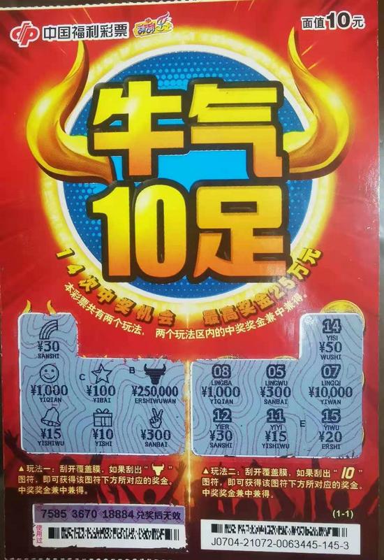 (中奖彩票)