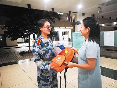 福彩学子:当一名志愿者去帮助更多人