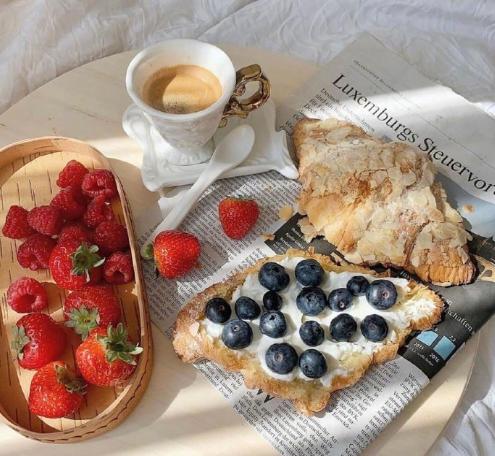 下午茶最爱牛角包
