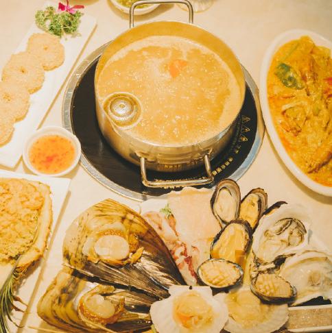 强势安利曼谷码头泰式海鲜火锅