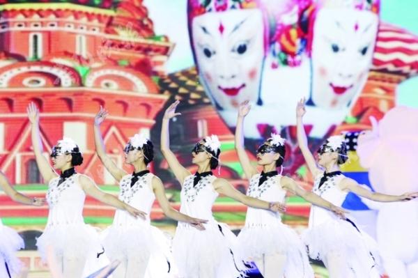 """安顺屯堡面具节开幕 14项系列活动将以""""面""""会友"""