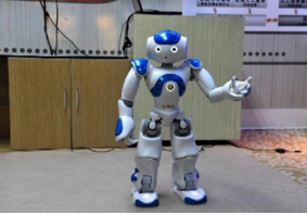 智能机器人 亮相2017贵阳房交会