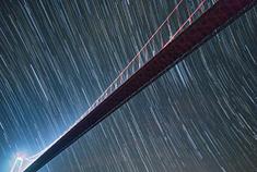 清水河大桥的星空