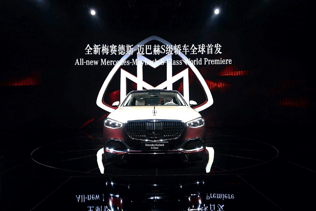 全新迈巴赫 S 级壁江山、GLS 级发售