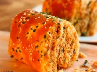 #小时间大美食#【肉松面包卷】