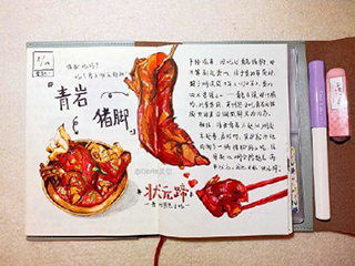 #寻味贵州美食# 【画图解馋】