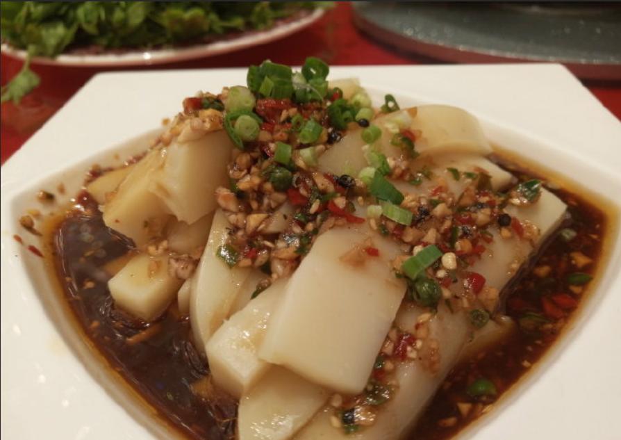 凉拌米豆腐,贵州特色小吃