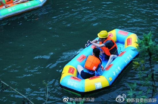 交通:1、贵阳到桃源河漂流路线:贵阳——扎佐——三里桥——桃源河。