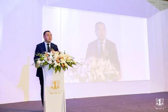 宏立城集团副总裁周振宇发表致辞