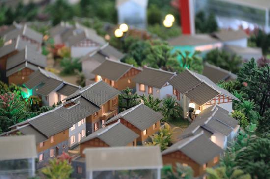 希望小镇最终效果模型