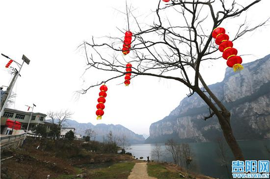 化屋村的一角美景。