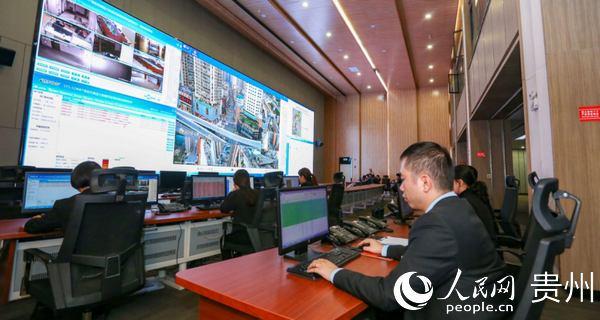 花果园大数据中心。宏立城集团提供