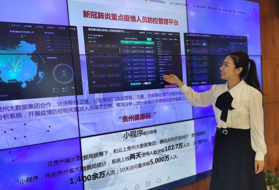贵州数联铭品科技有限公司正在介绍健康的功能