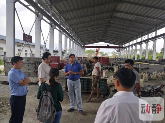 贵州长通集团在缅甸进行考察