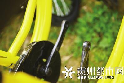 管理员介绍,最近每天都能找到一些不同程度损毁的共享单车。