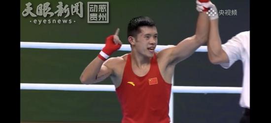 吕平在此次全运会拳击前三争夺战中